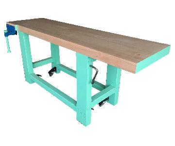 Solid Hard Maple Work Bench
