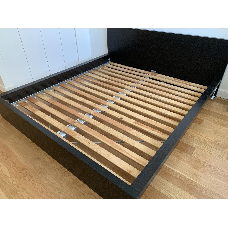 Ikea Malm Bed Frame w/ Headboard-1