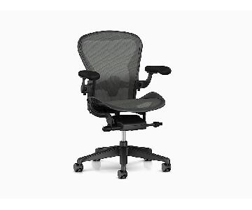 Herman Miller Aeron Black Chair