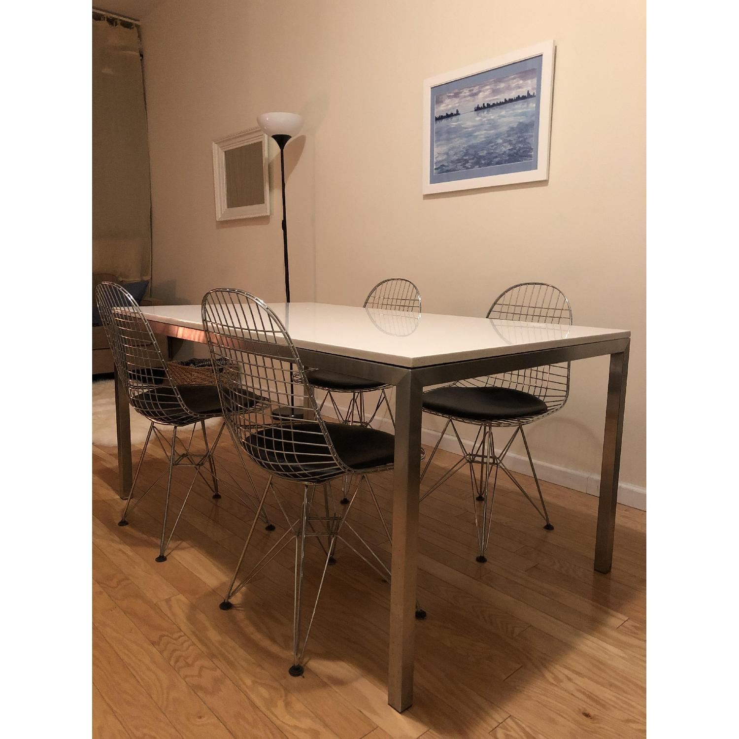 Crate & Barrel Parsons Dining Table-1