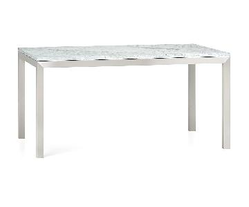 Crate & Barrel Parsons Dining Table