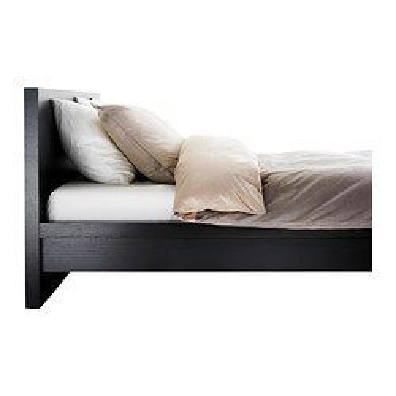 Ikea Malm King Bed Frame W Slatted Bed Base Aptdeco