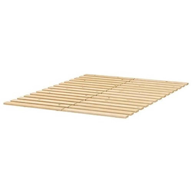 Ikea Malm King Bed Frame w/ Slatted Bed Base-2