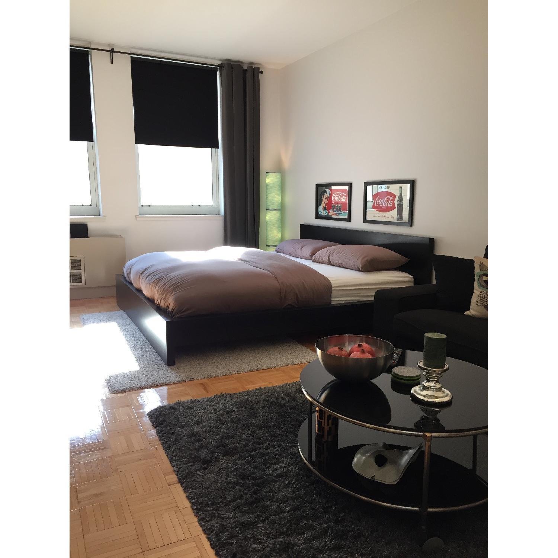 Ikea Malm King Bed Frame w/ Slatted Bed Base-3