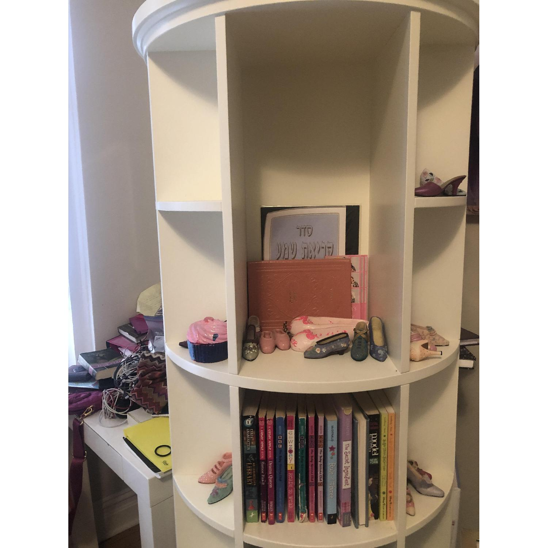 Pottery Barn Teen Revolving Bookcase-0