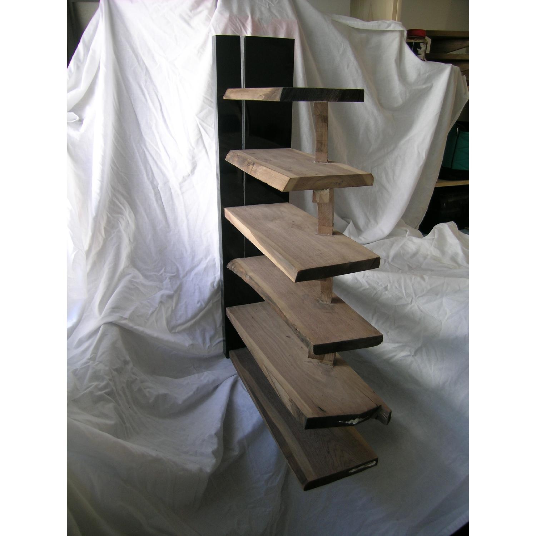 Art Furniture Live Edge 6-Tier Walnut Shelves-1