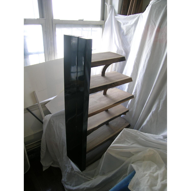 Art Furniture Live Edge 6-Tier Walnut Shelves-6