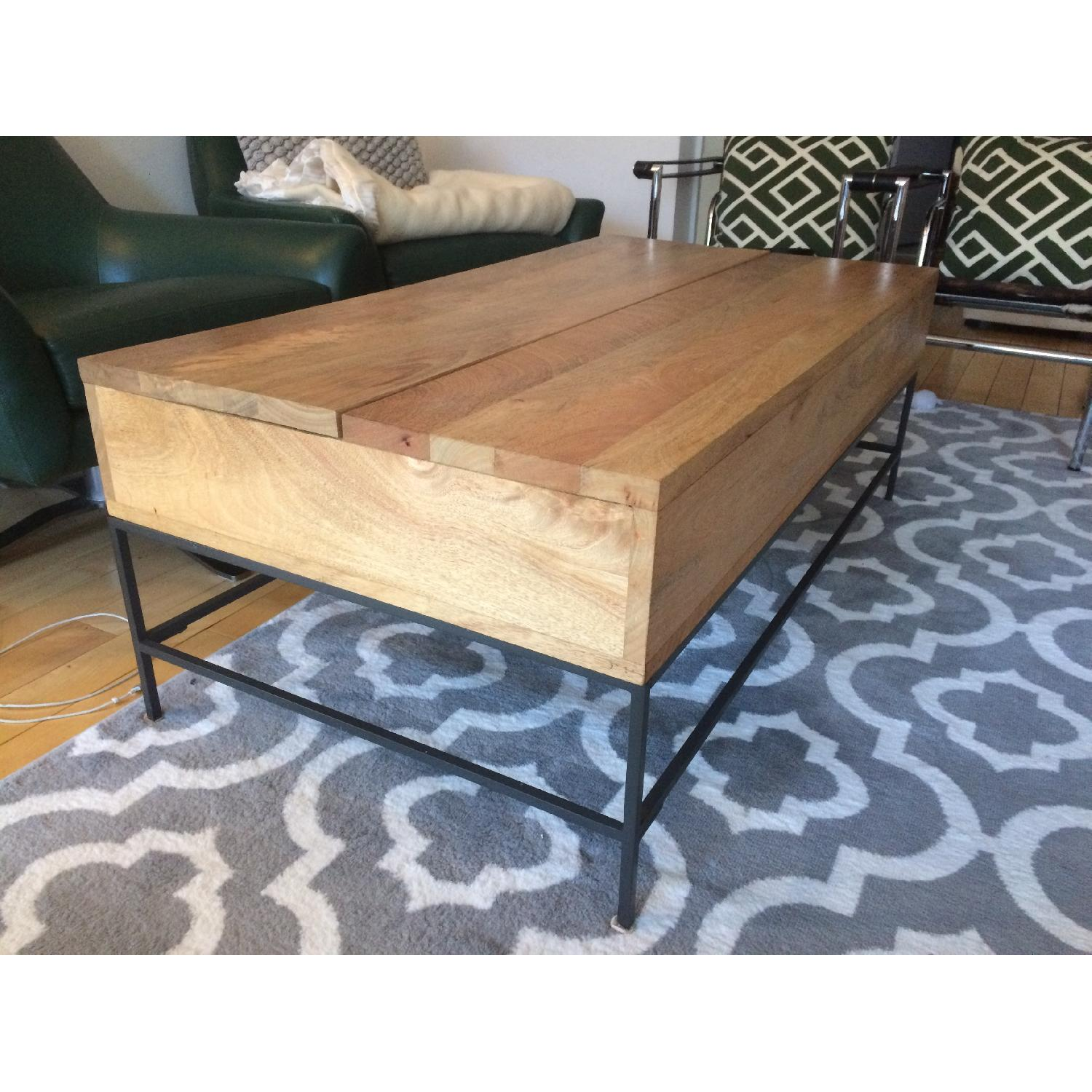 West Elm Industrial Storage Coffee Table-3