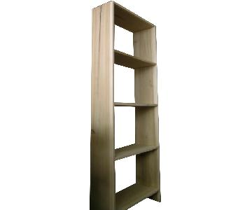 Solid Poplar Hardwood Bookcase