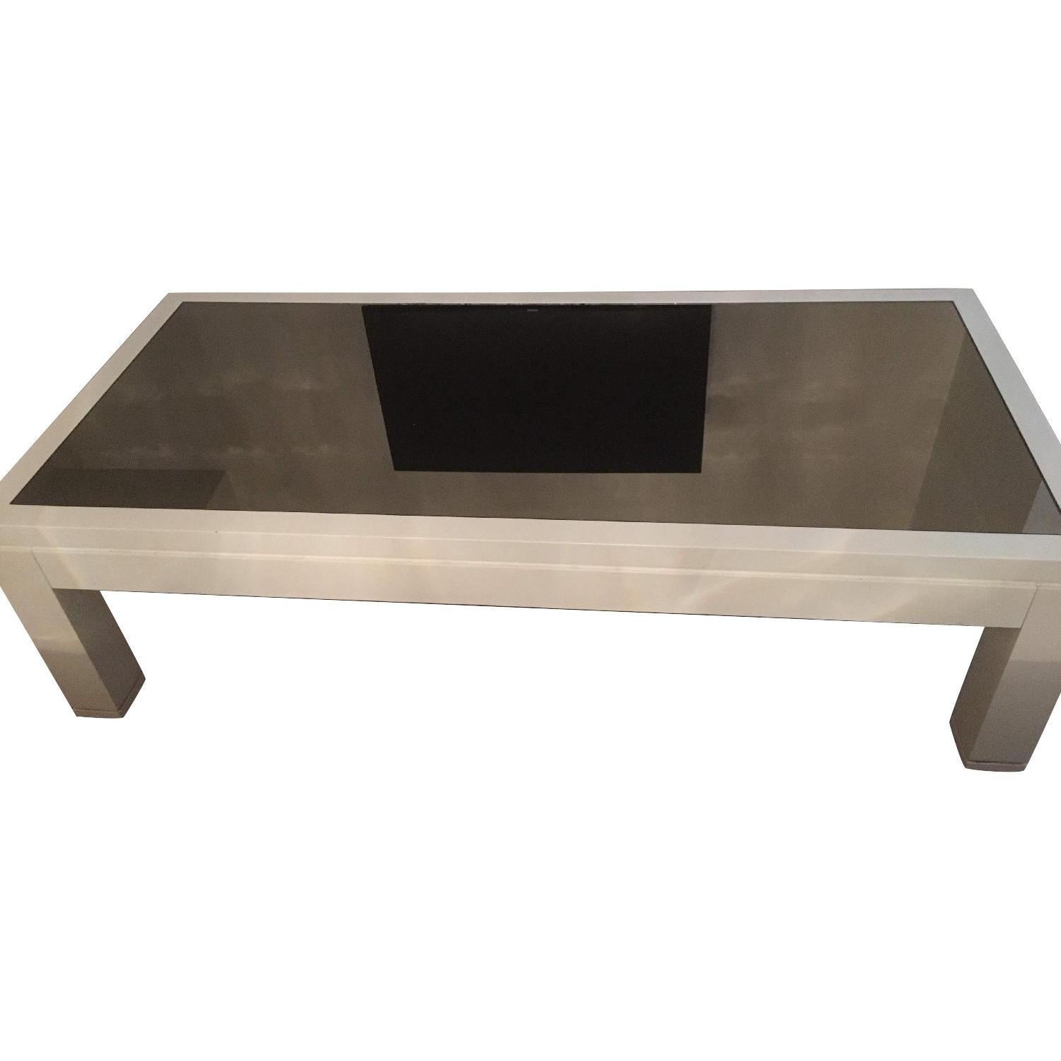 Mitchell Gold + Bob Williams Mirrored Lacquer Coffee Table