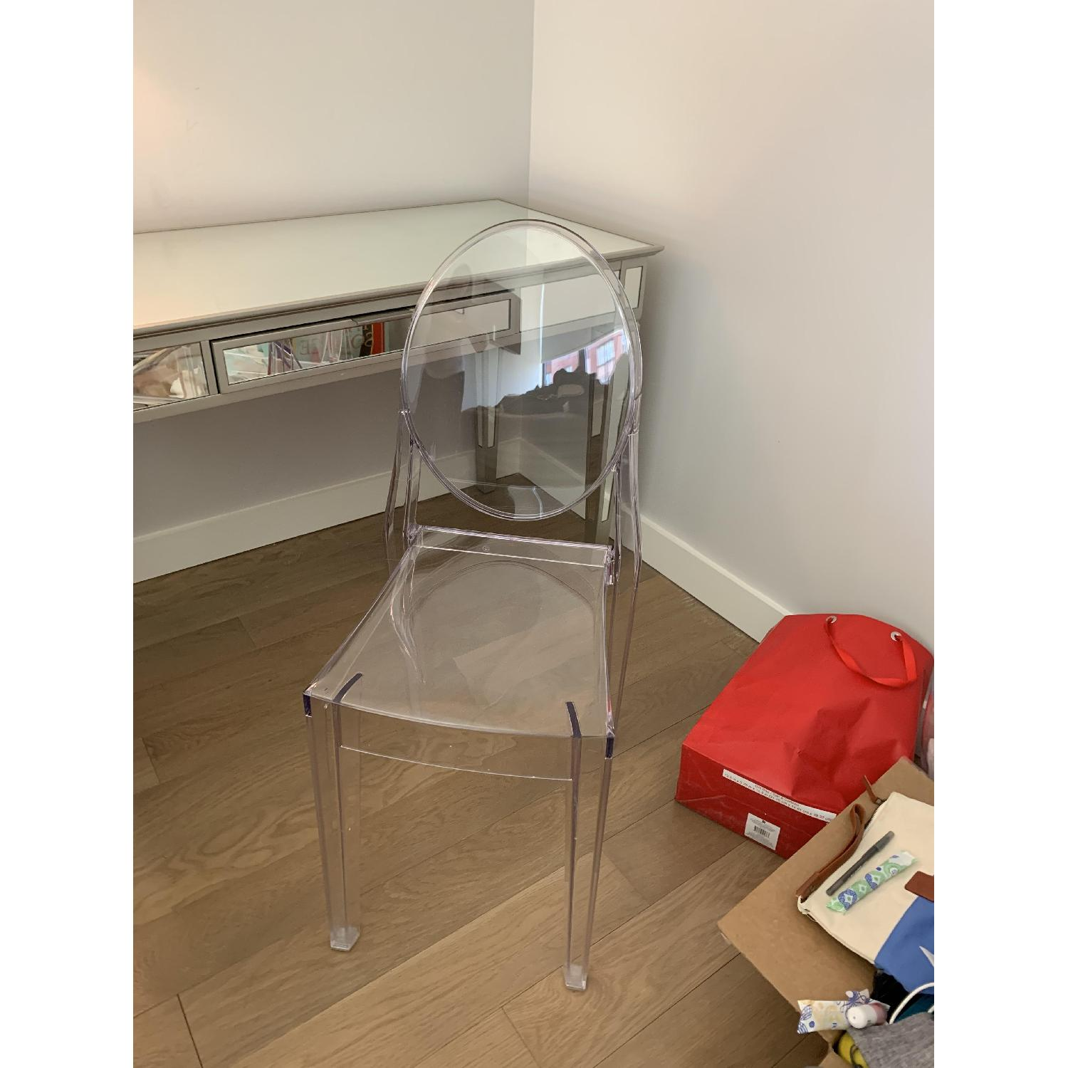 Design Within Reach Transparent Chair-0