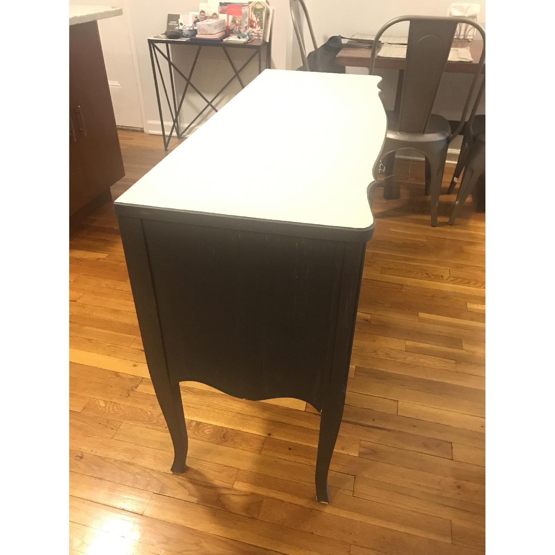 Vintage Grey Vanity Table-2