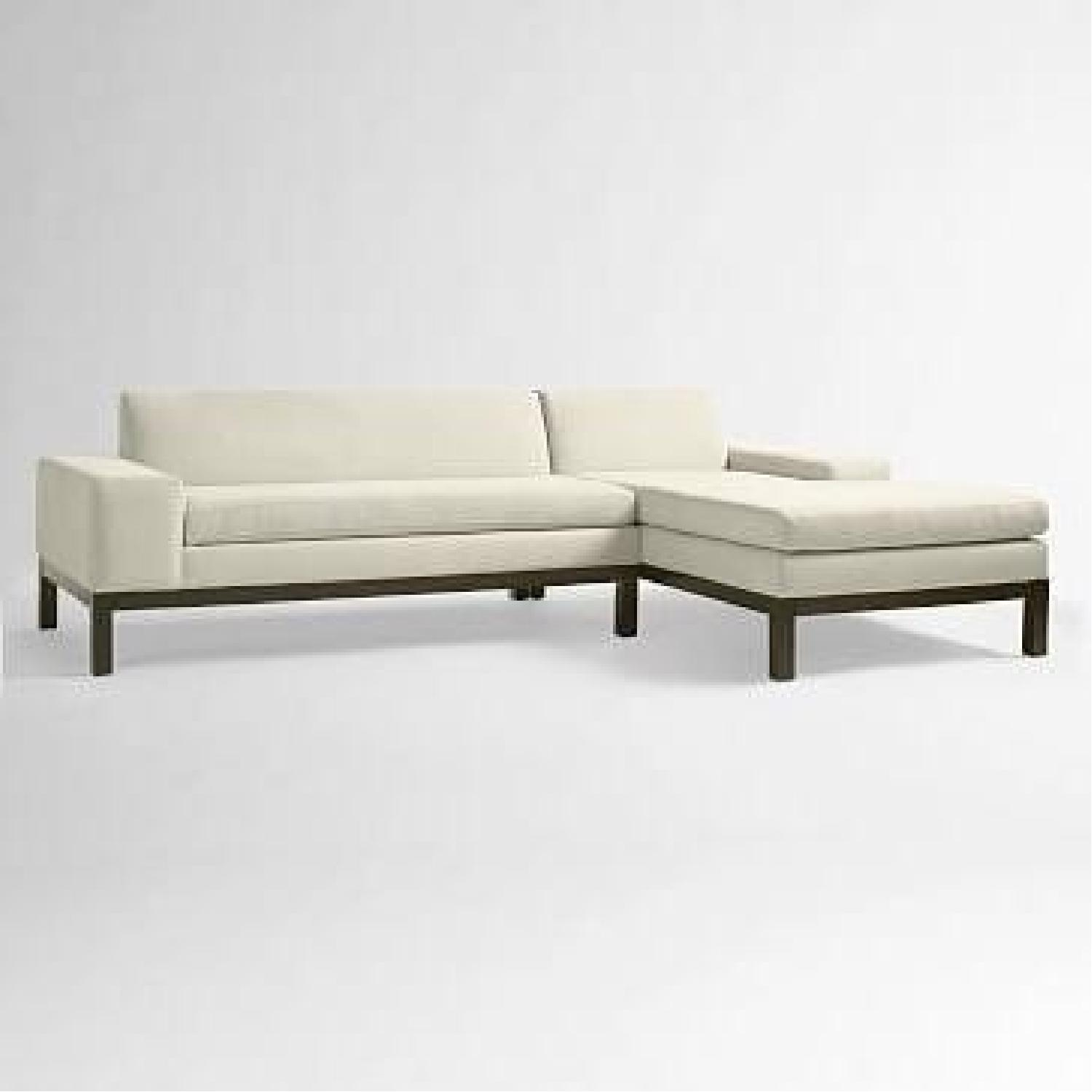 West Elm Sectional Sofa w/ Chaise-3