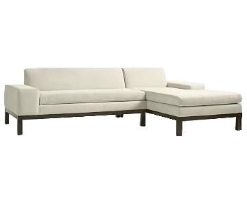 West Elm Sectional Sofa w/ Chaise