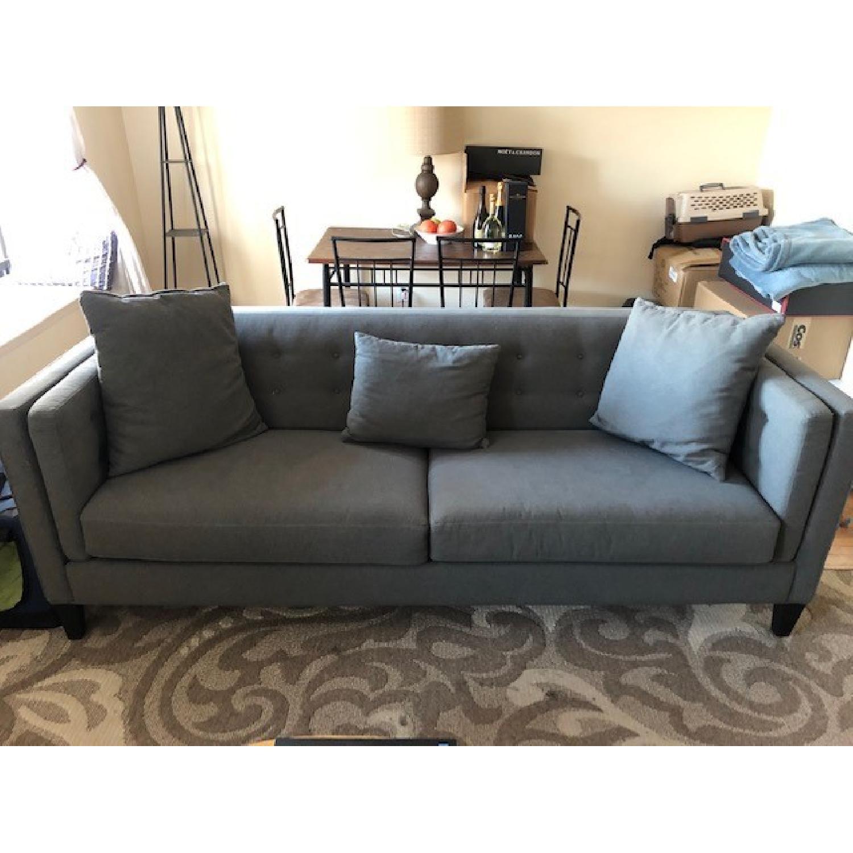 Macy's Grey Sofa-0