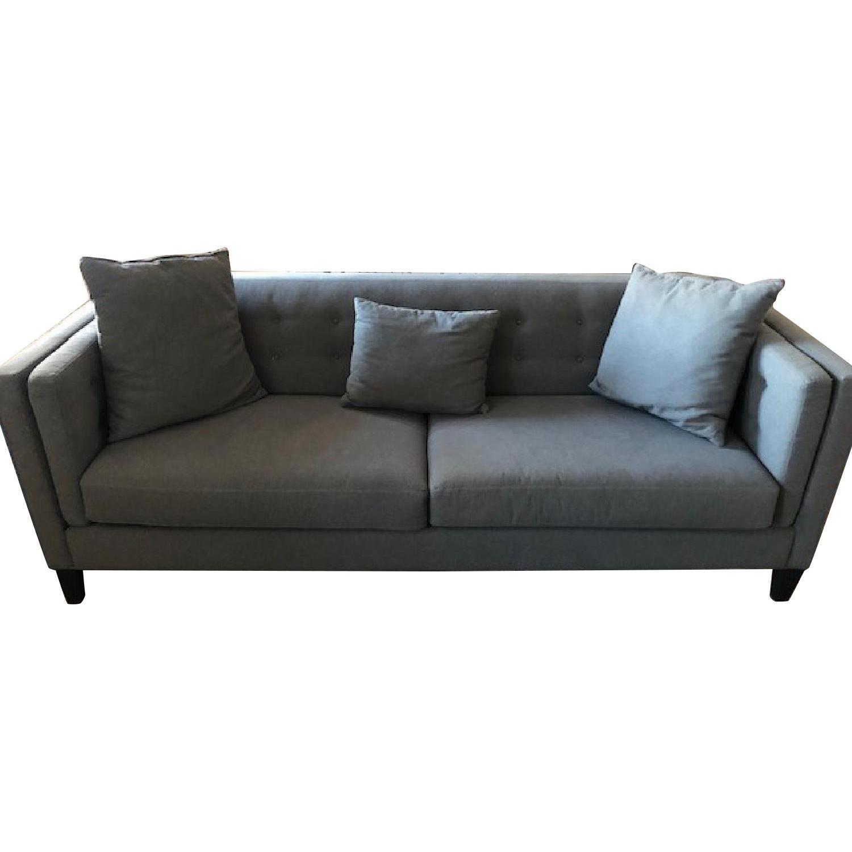 Macy's Grey Sofa