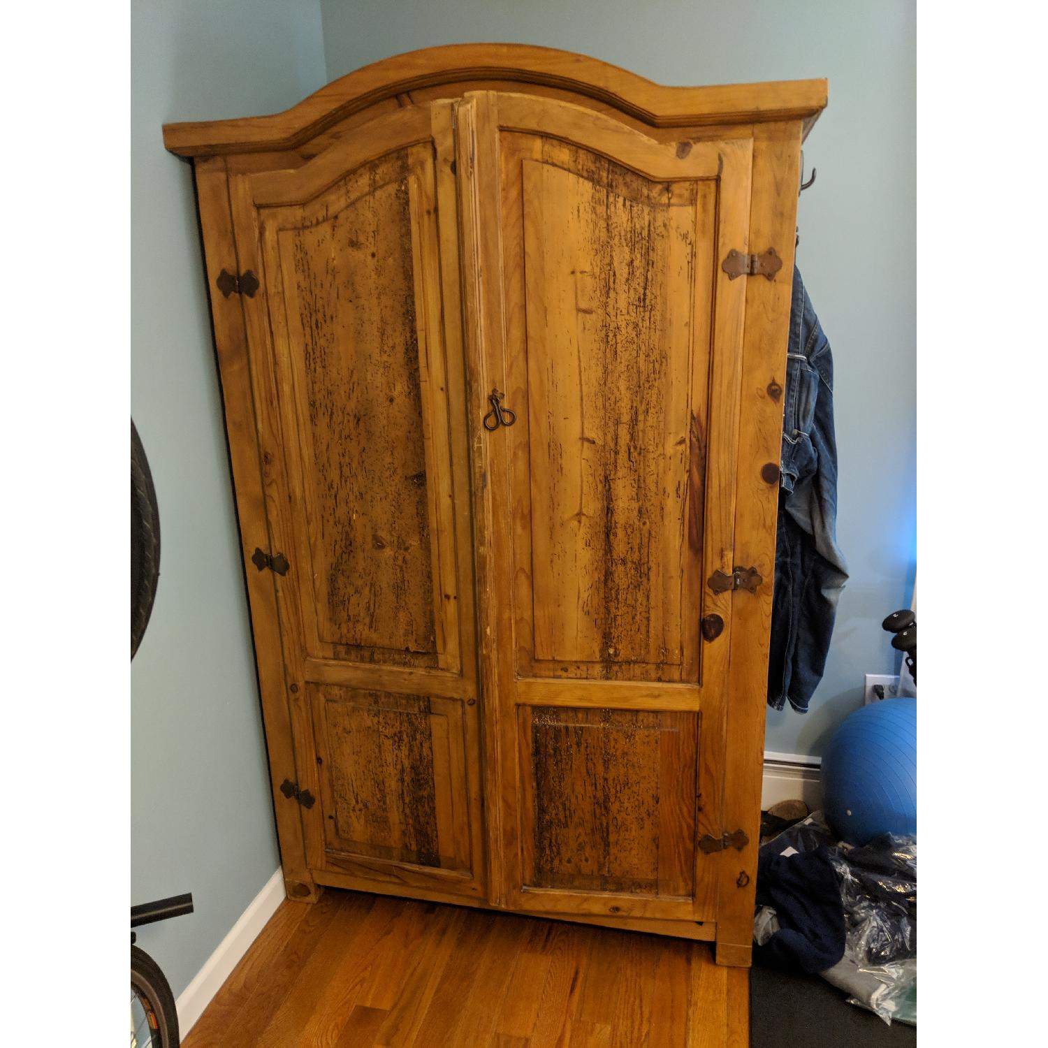 Reclaimed Wood Armoire-0