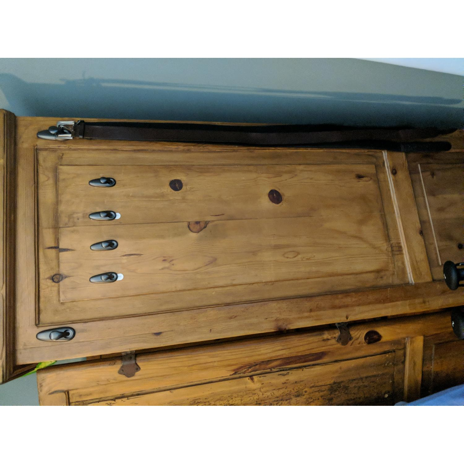 Reclaimed Wood Armoire-2