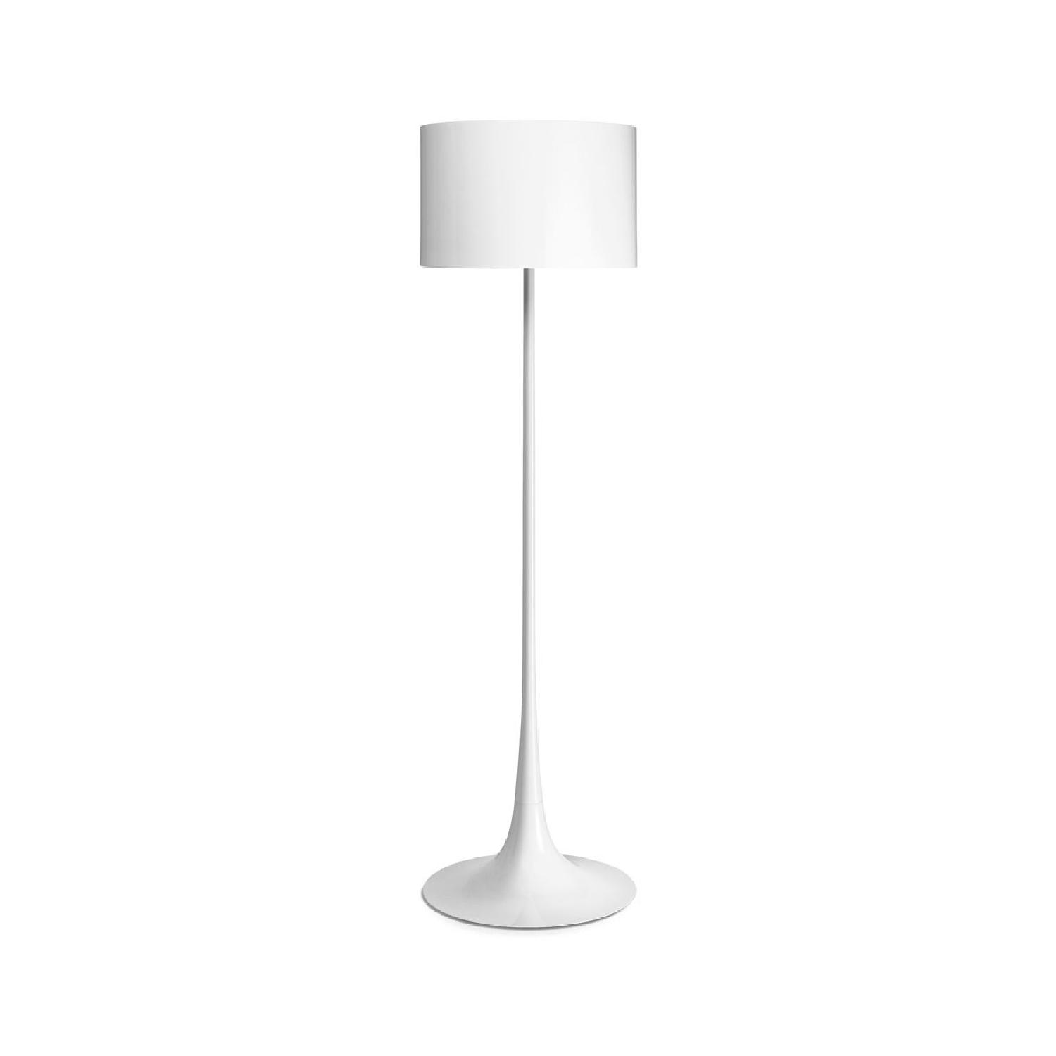 Flos Spun White Floor Lamp