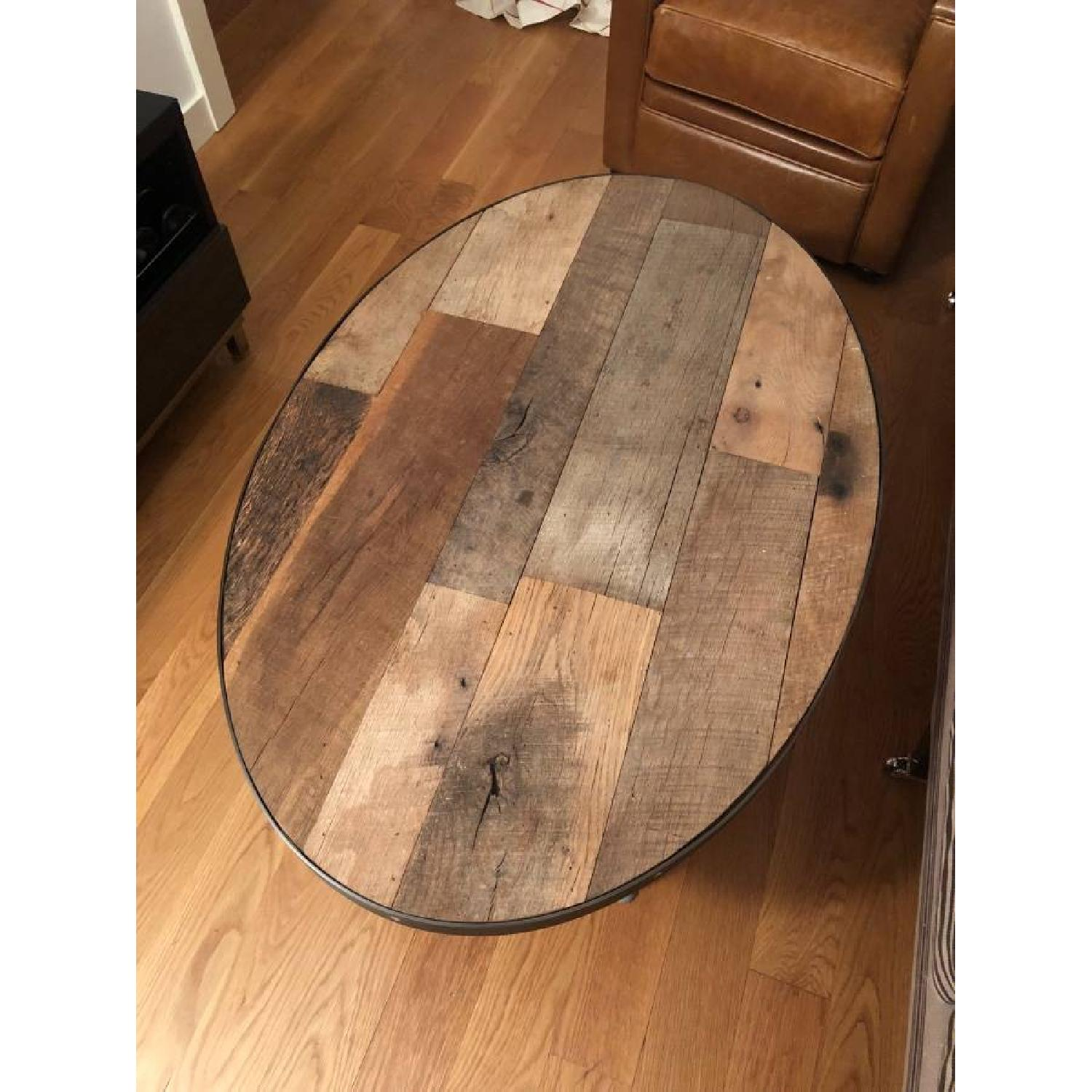 Handmade Reclaimed Wood Coffee Table-1