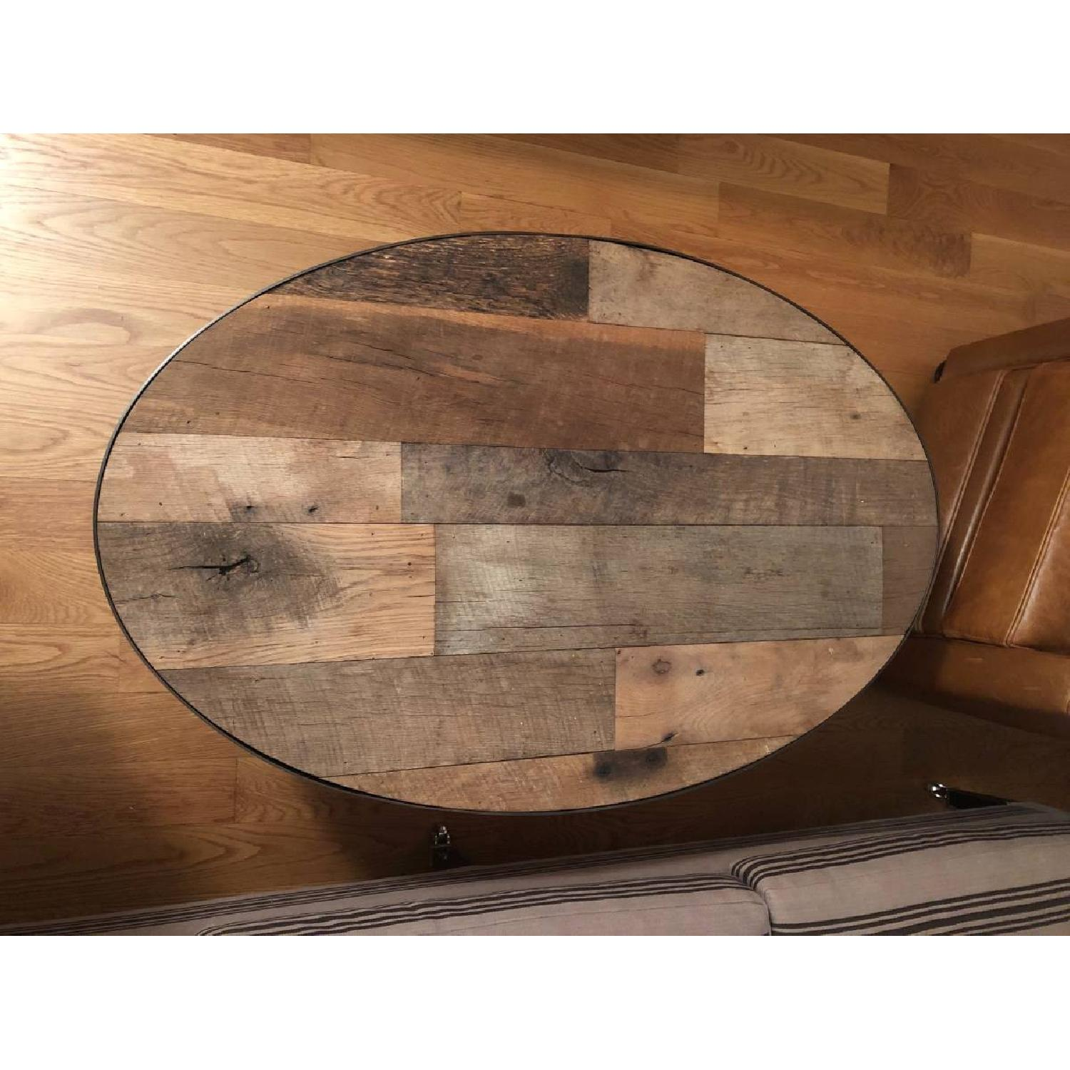 Handmade Reclaimed Wood Coffee Table-3