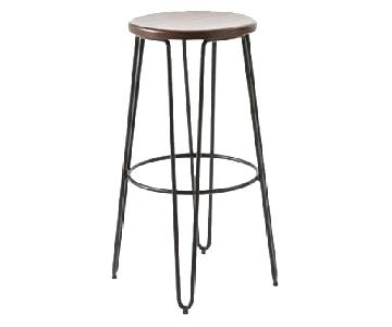 West Elm Hairpin Bar Stools