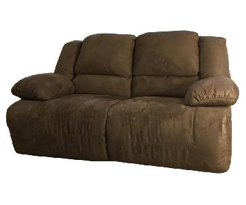Ashley Double Recliner Sofa