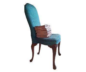 Maison Jansen Furniture Vintage High Back Dining Chairs