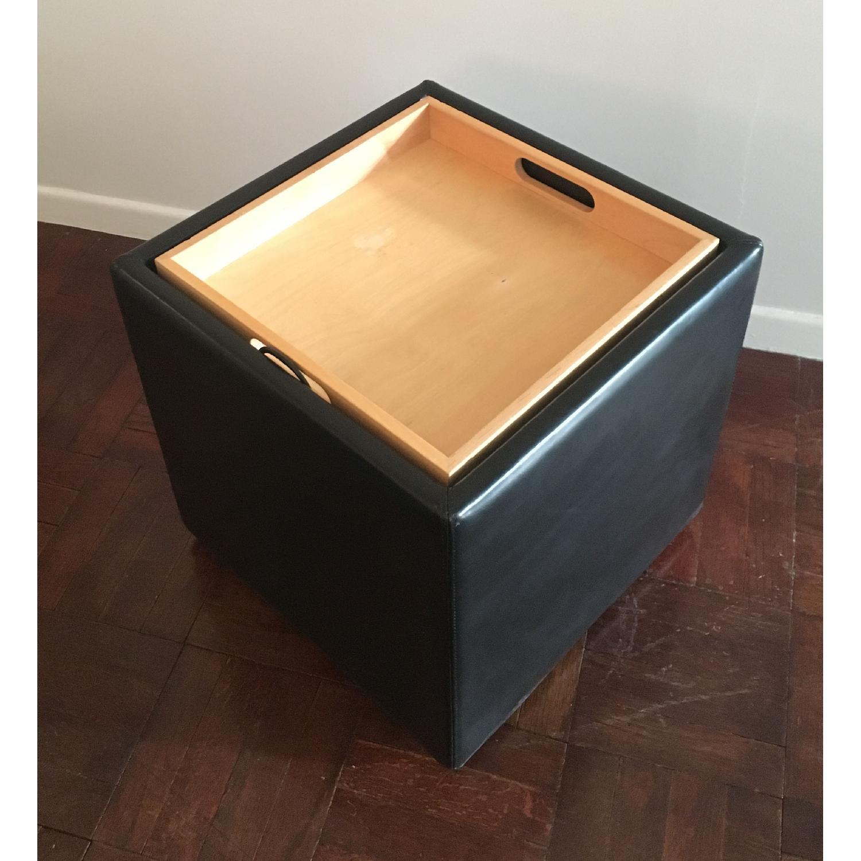 Design Within Reach Nexus Black Storage Cube-3