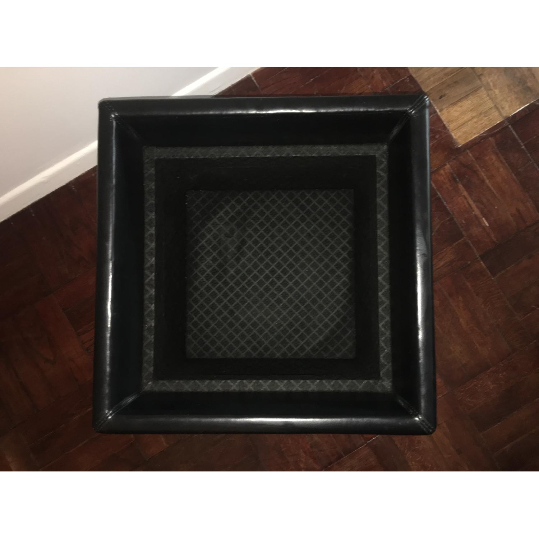Design Within Reach Nexus Black Storage Cube-4