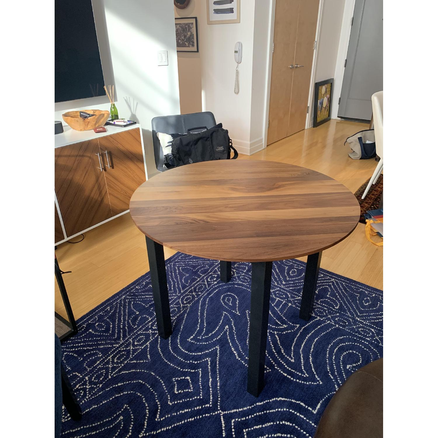 Room & Board Parsons Round Dining Table-0
