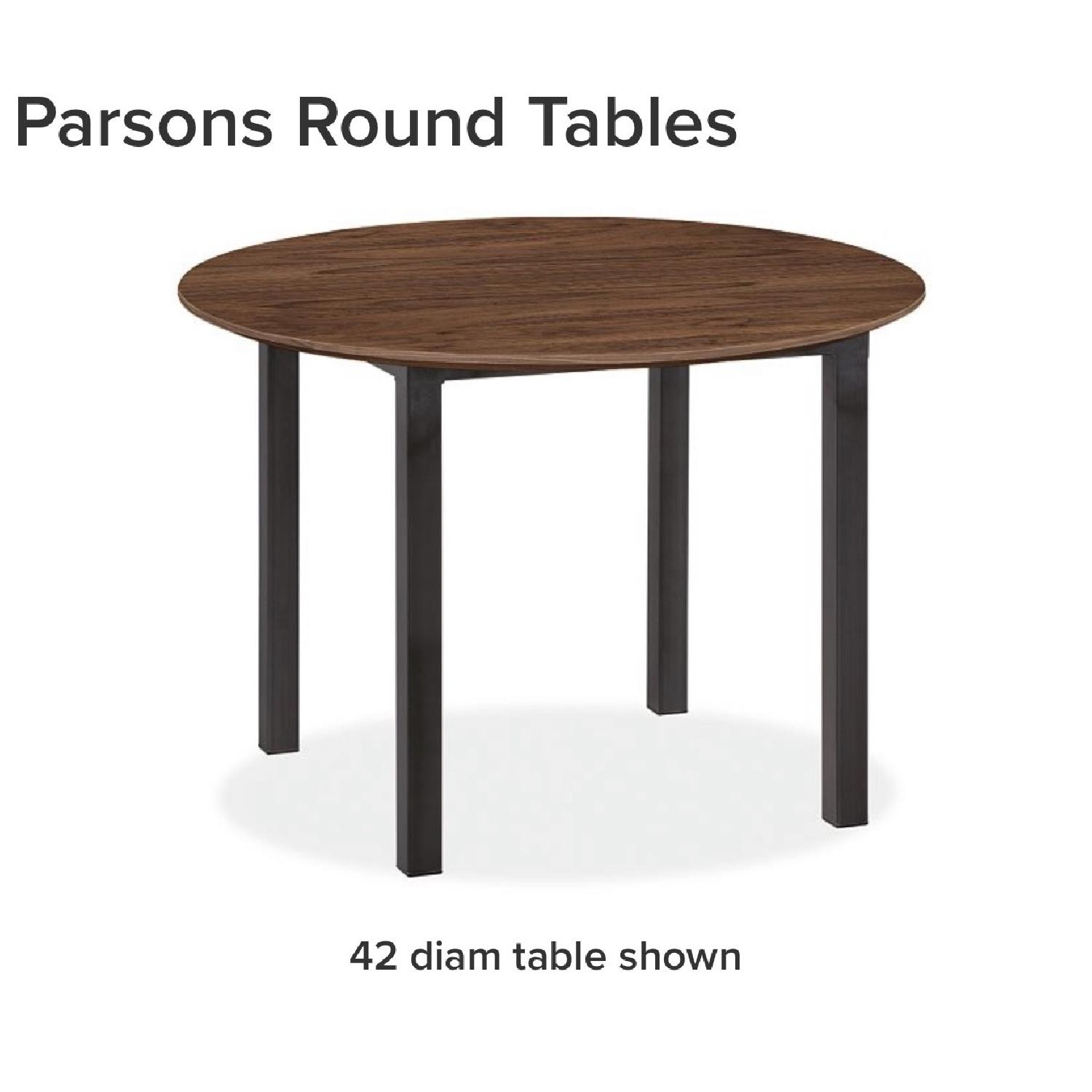 Room & Board Parsons Round Dining Table-2