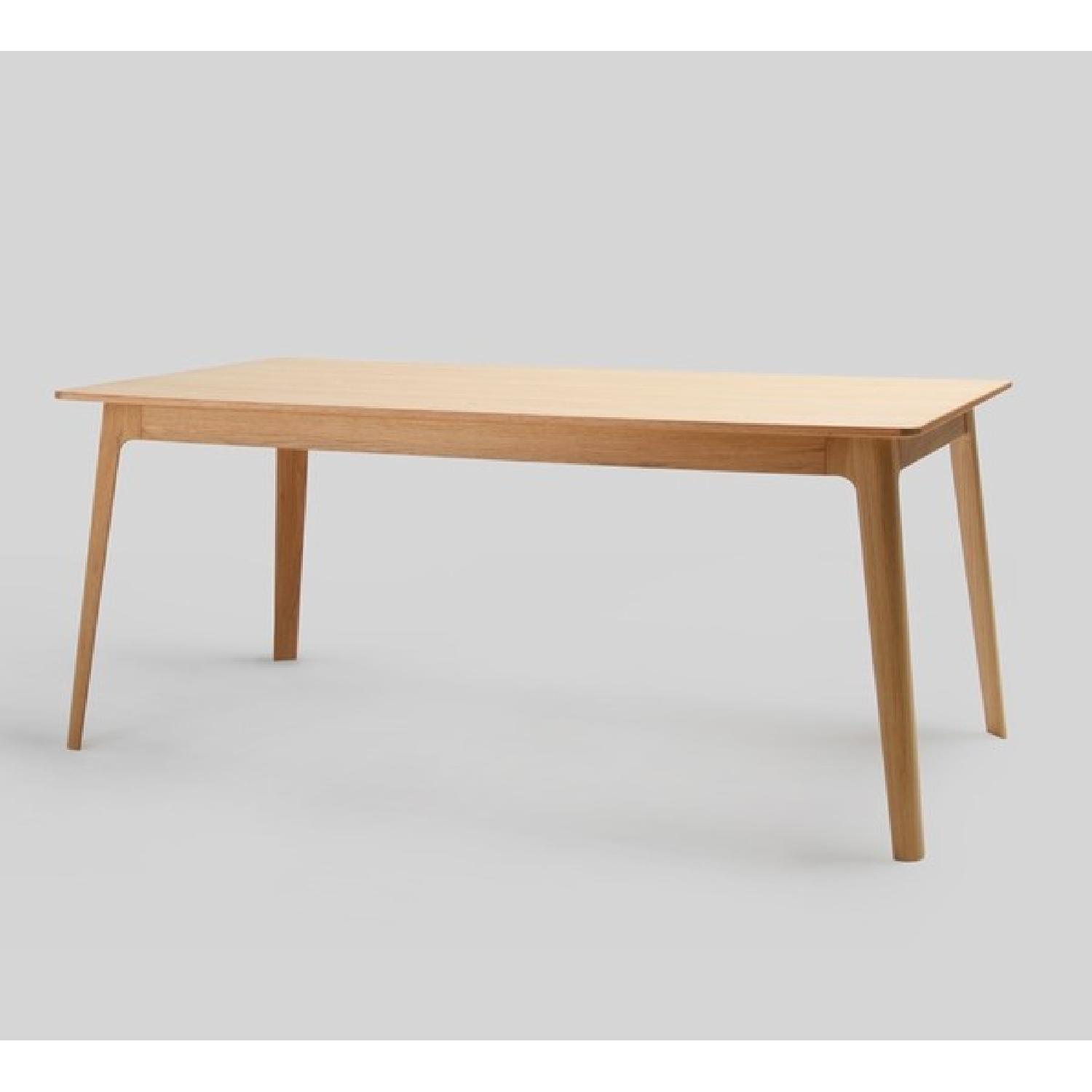 Inmod American White Oak Dining Table-0