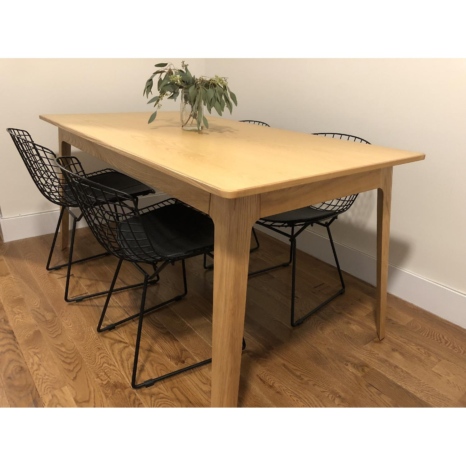 Inmod American White Oak Dining Table-2