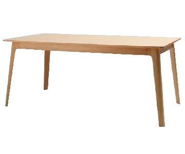Inmod American White Oak Dining Table