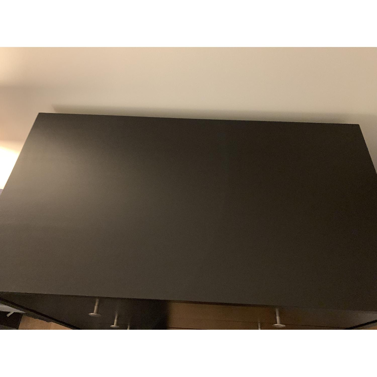 Crate & Barrel Black 4 Drawer Dresser-2