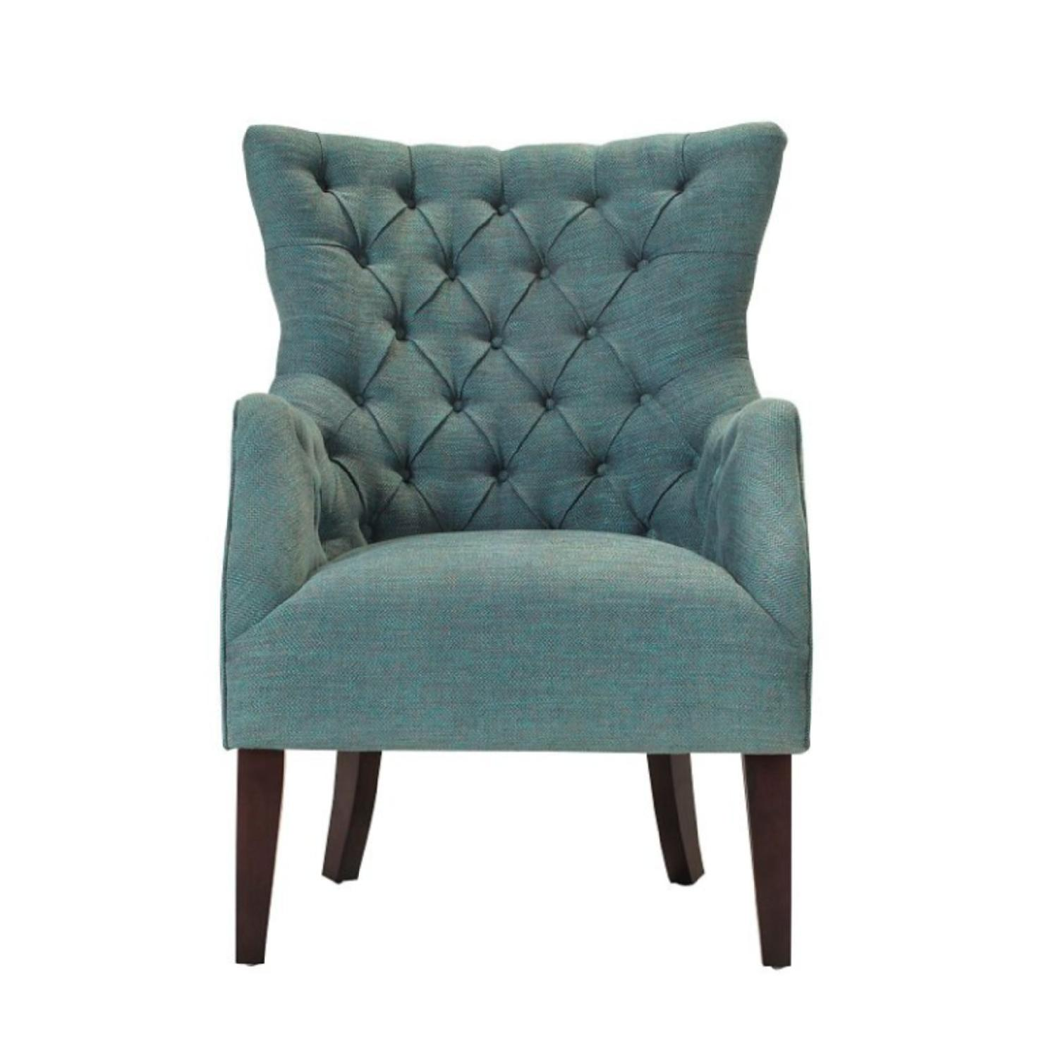 Raymour & Flanigan Angora Chenille Accent Chair