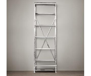 Restoration Hardware French Library Narrow Shelving Unit