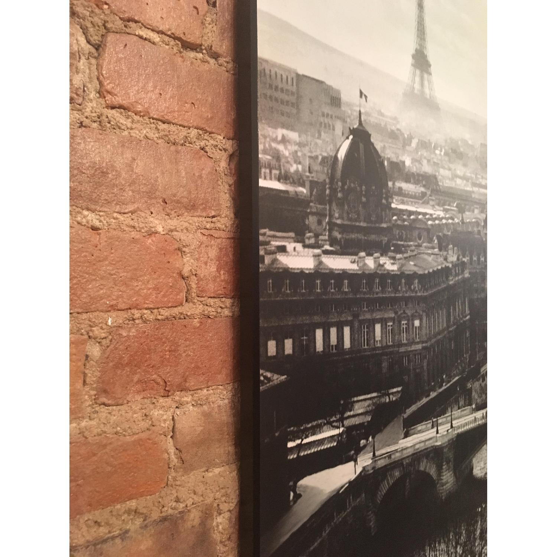 Z Gallerie Paris Eiffel Tower Seine Wood Mounted Print-2