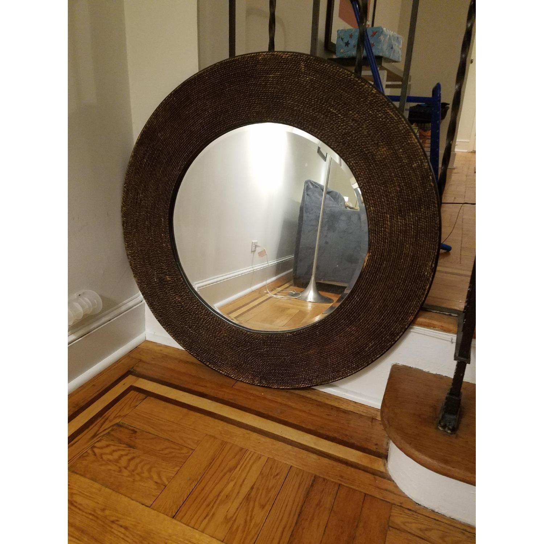 Ballard Designs Round Mirror-1