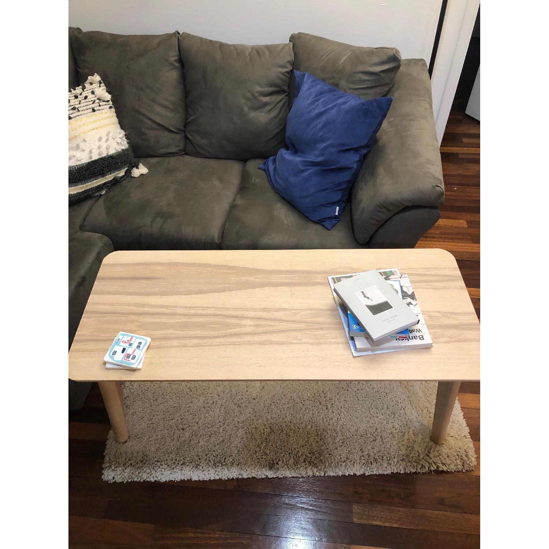 Ikea Lisabo Ash Veneer Coffee Table-0