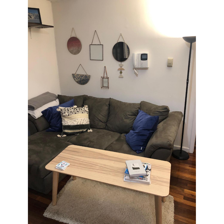 Ikea Lisabo Ash Veneer Coffee Table-2