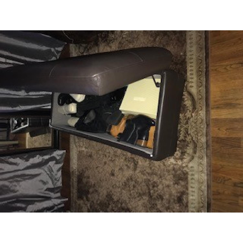 Raymour & Flanigan Garrison Leather Storage Ottoman-2