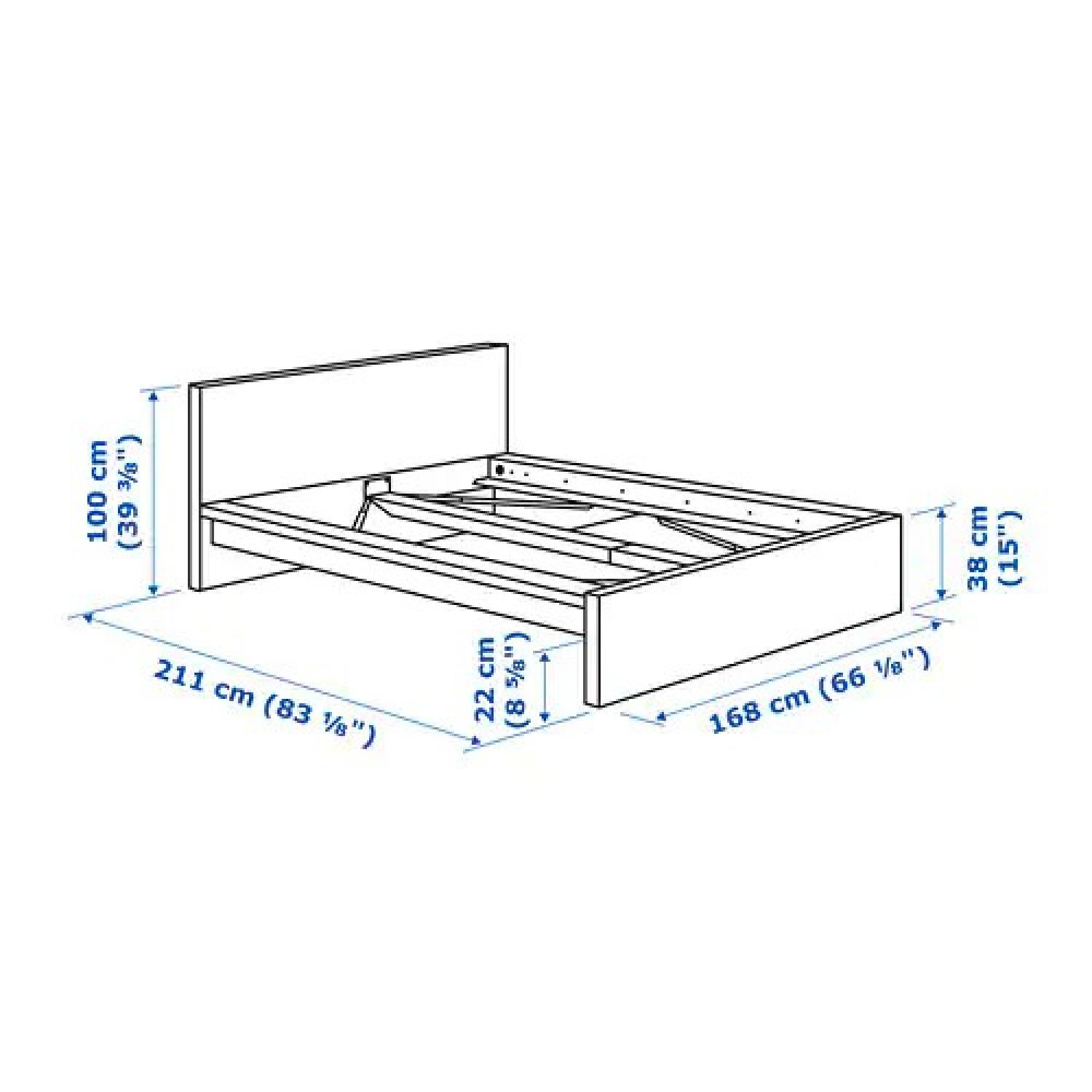 Ikea Malm Queen Size Bed Frame-1