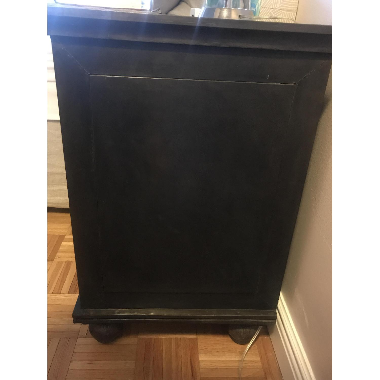 Restoration Hardware Annecy Metal Wrapped Nightstand-3