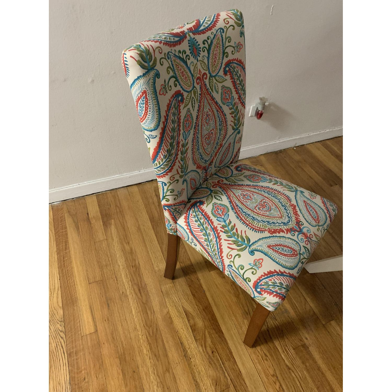 Target Floral Accent Chair-0