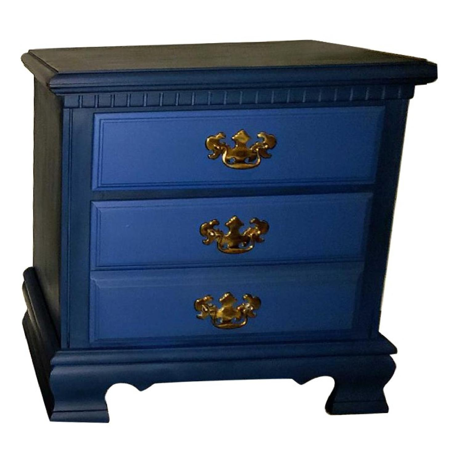 Vintage Federal Style Nightstands
