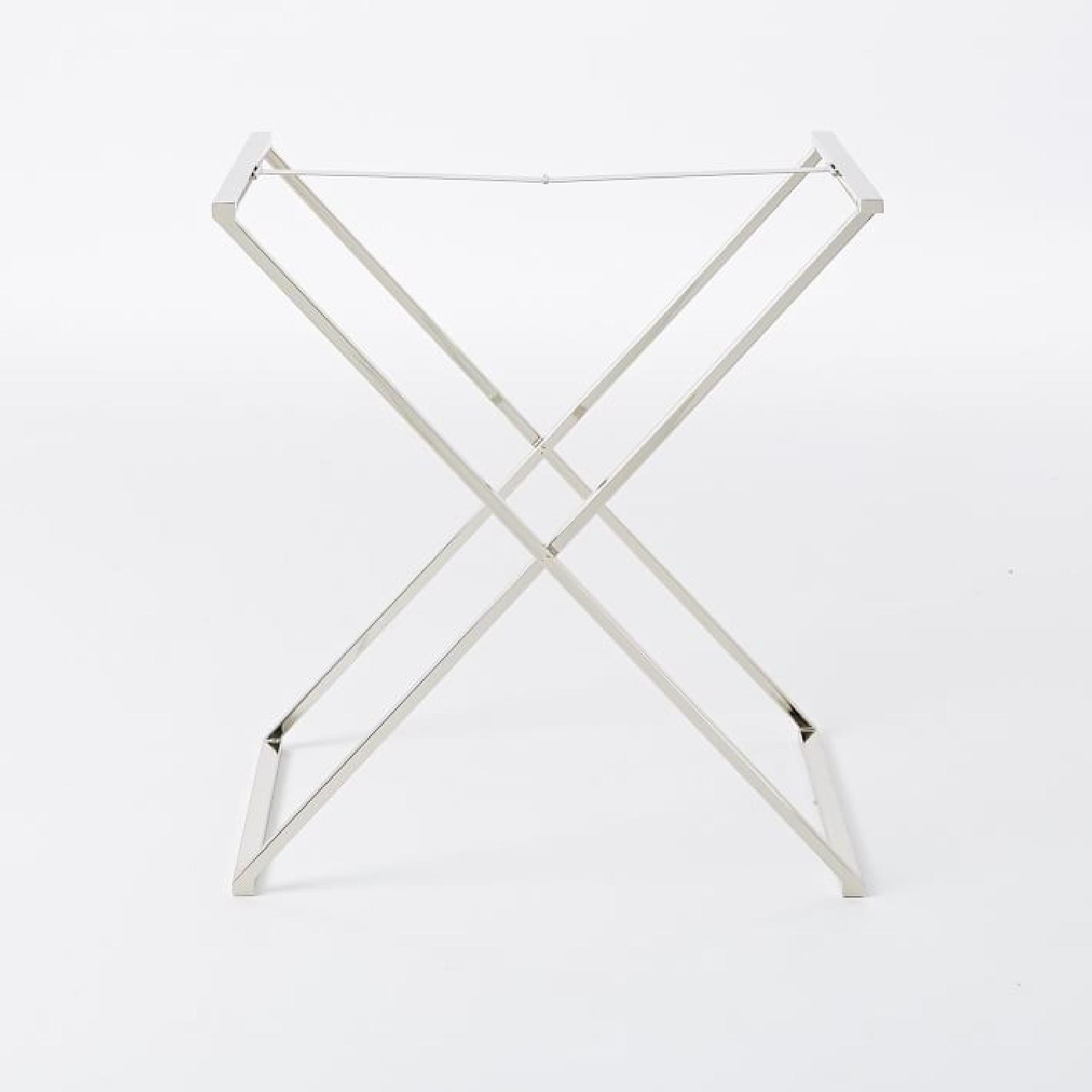 West Elm Butler Tray w/ Stand-4