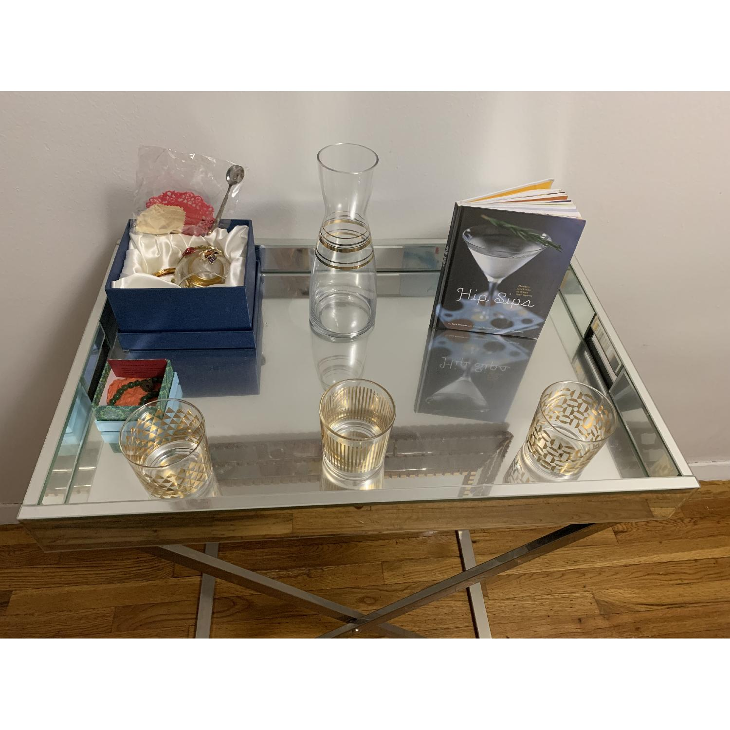 West Elm Butler Tray w/ Stand-5