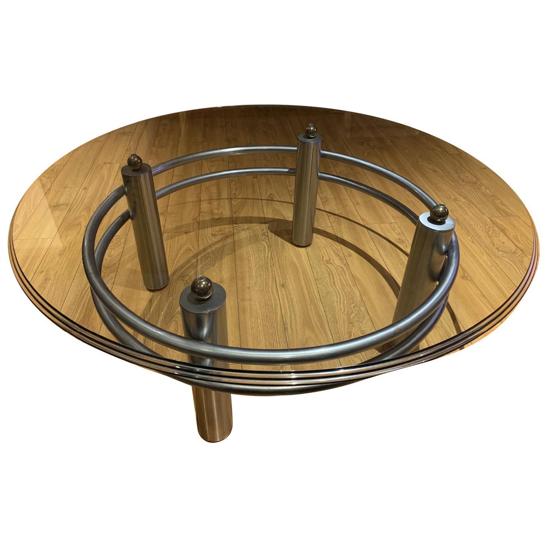 Bernhardt Contemporary Round Cocktail Table